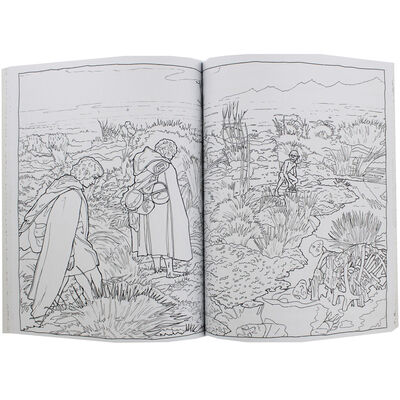 Lord of the Rings Movie Trilogy Colouring Book image number 2