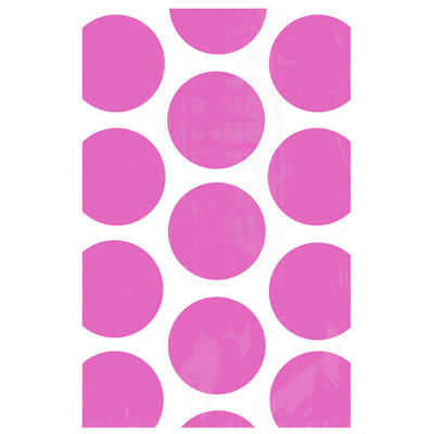 10 Pink Polka Dot Paper Favour Bags image number 2