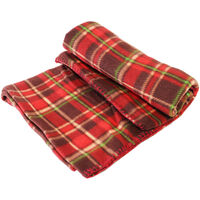 Luxury Tartan Fleece Blanket