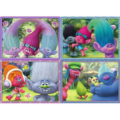 Trolls Pink Bump Pack 4x100pc  image number 2