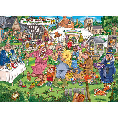 Wasgij Original 32 The Big Weigh In 1000 Piece Puzzle image number 2