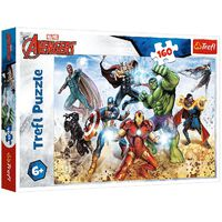 Avengers Save The World 160 Piece Jigsaw Puzzle
