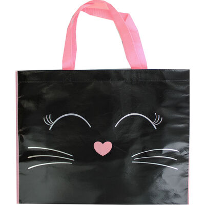 Shopping Cat Giant Reusable Shopping Bag image number 1