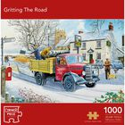 Gritting the Road 1000 Piece Jigsaw Puzzle image number 1