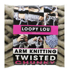 Loopy Lou Super Chunky Taupe Twist Yarn - 250g image number 3