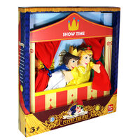 Prince and Princess Wooden Puppet Theatre