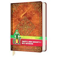 A5 Elf Santa's Naughty & Nice Notebook