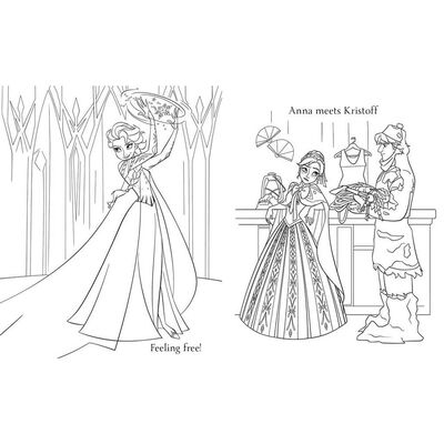 Disney Frozen Simply Colouring image number 3