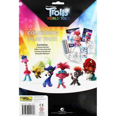 Trolls Colouring Play Pack image number 4