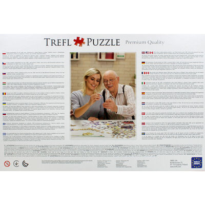 Flowers in the Morning 1000 Piece Jigsaw Puzzle image number 4