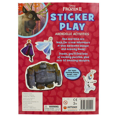 Disney Frozen 2 Sticker Play Arendell Activities image number 2