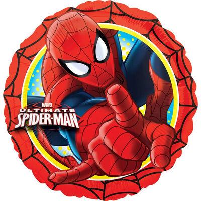 18 Inch Spiderman Helium Balloon image number 1