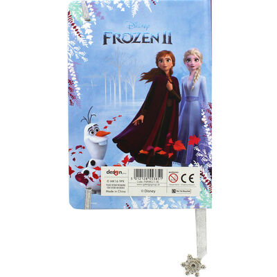Disney Frozen 2 A5 Lined Notebook image number 3