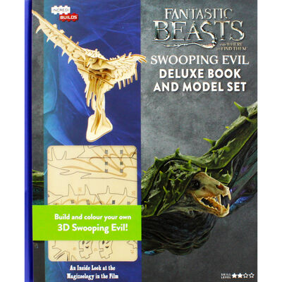 Fantastic Beasts: Swooping Evil Deluxe Book and Model Set image number 1
