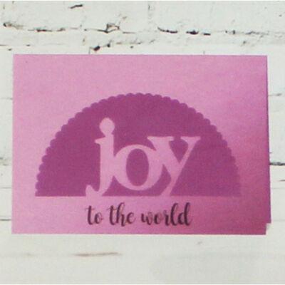 Gemini Stamp and Metal Die Set - Joy image number 4