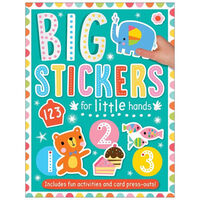 Big Stickers for Little Hands: 123
