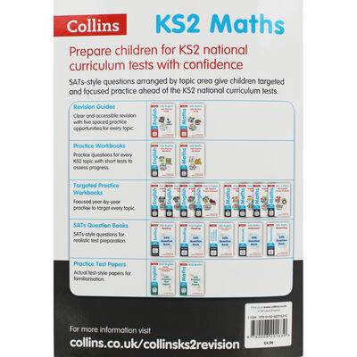 KS2 Maths Reasoning SATs Question Book image number 3