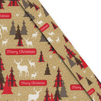 Christmas Gift Wrap 5m: Assorted Festive Patterns