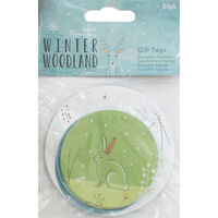Winter Woodland Gift Tags Pack of 20