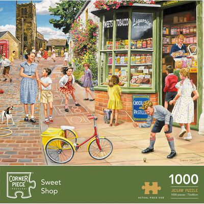 Sweet Shop 1000 Piece Jigsaw Puzzle image number 1