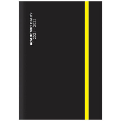 A4 Black 2021-2022 Day a Page Diary image number 1