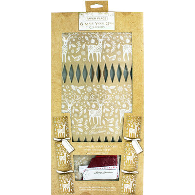 Make Your Own Christmas Deer Crackers - 6 Pack image number 1