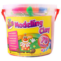 Modelling Clay: 70 Piece Set