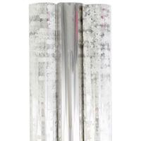 Printed Cellophane Wrap 3m: Pack Of 3