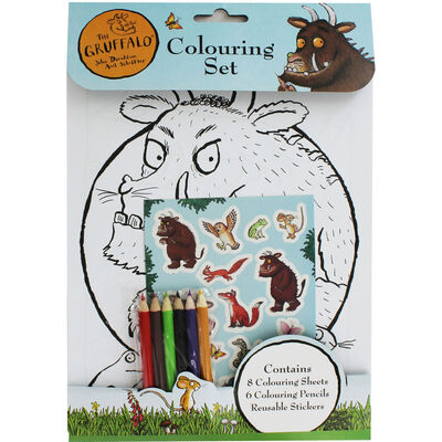 The Gruffalo Colouring Set image number 1