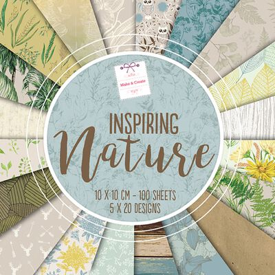 Inspiring Nature Design Pad: 10 x 10cm image number 1