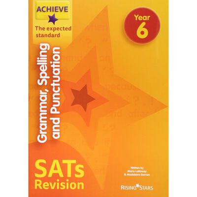 Achieve Grammar, Spelling and Punctuation SATs Revision: Year 6 image number 1