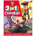 Disney Pixar Toy Story 4: 3-in-1 Colouring image number 1