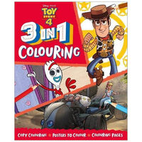 Disney Pixar Toy Story 4: 3-in-1 Colouring