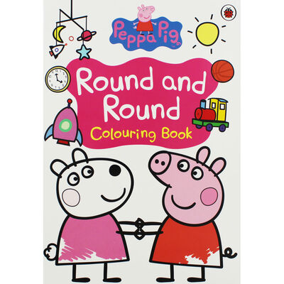 Peppa Pig: Round and Round Colouring Book image number 1