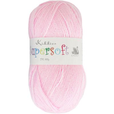 Kiddies Supersoft DK Pink Yarn - 100g image number 1