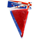 Red,  White and Blue 12m Fabric Bunting image number 1