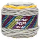 Bernat Pop Bulky Zesty Grey Yarn - 280g image number 1