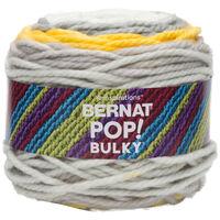Bernat Pop Bulky Zesty Grey Yarn - 280g