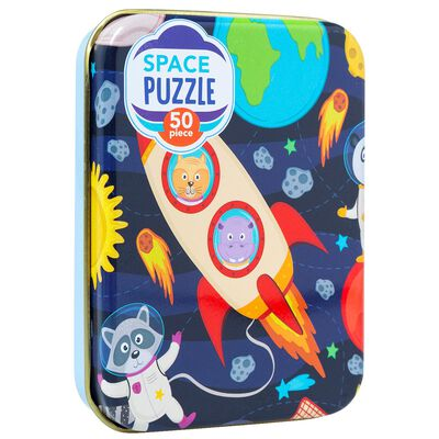 Space Rocket 50 Piece Jigsaw Puzzle image number 1
