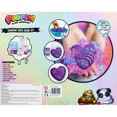 Poopsie Slime Surprise Rainbow Bath Bomb Set image number 4