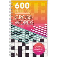 600 Puzzles: Crosswords