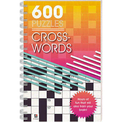 600 Puzzles: Crosswords image number 1