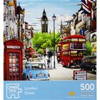 London Street 500 Piece Jigsaw Puzzle image number 1