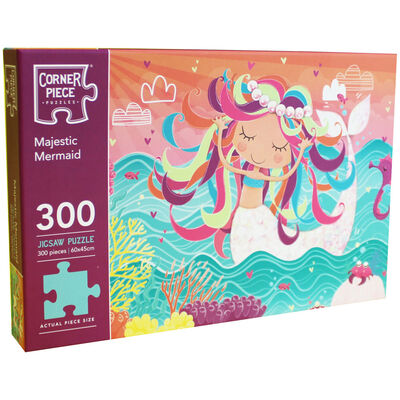 Majestic Mermaid 300 Piece Jigsaw Puzzle image number 1