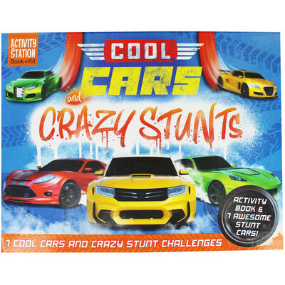 Cool Cars and Crazy Stunts image number 1