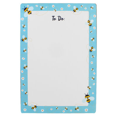 A4 Bee Dry Wipe To Do List Board with Pen image number 2