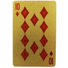 Metallic Euro Note Style Playing Cards - Assorted image number 3