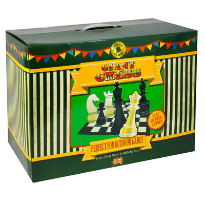 Giant Chess Game Set image number 1