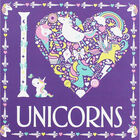 I Heart Unicorns Colouring Book image number 1