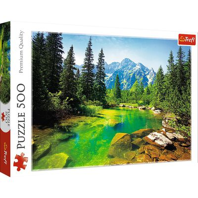 Tatra Mountains 500 Piece Jigsaw Puzzle image number 1